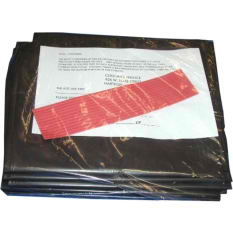 """93620008 12"""" Broan Trash Compactor Bags 12 Pack"""