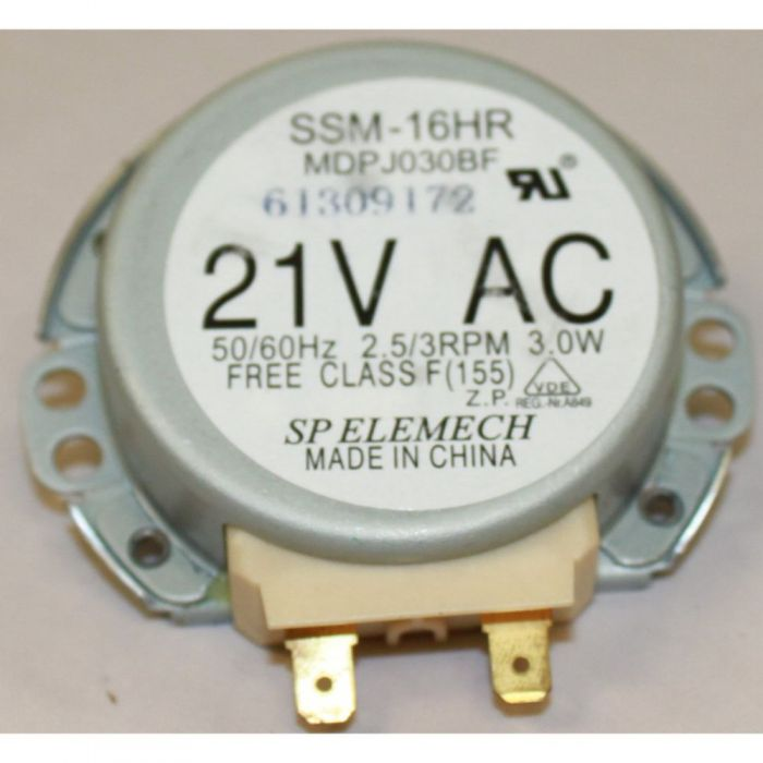 DE31-10172C General Electric Hotpoint Microwave Oven Turntable Motor
